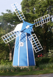 Photo of the windmill in Krider Garden