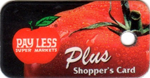Image of a Kroger Plus card