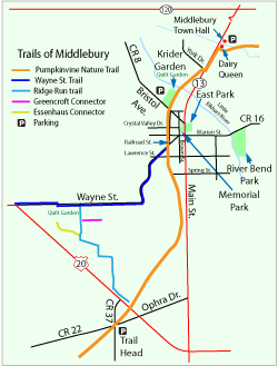 Middlebury map