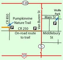 Shipshewana parking map.